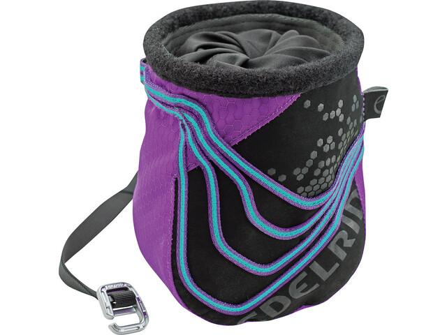 Edelrid Saturn Chalk Bag icemint/violet